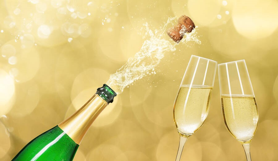 Geschmack Champagner