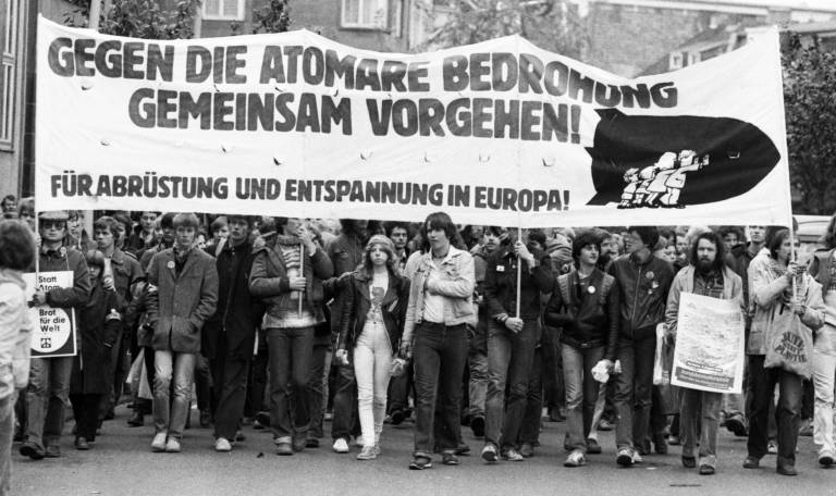Atomwaffen abschaffen Bonn 1981