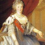 Sophie Dorothee von Württemberg trug nach der Heirat 1776 mit dem späteren Zaren Paul I. den Namen Maria Fjodorowna. Eines ihrer zehn Kinder war Katharina Pawlowna.