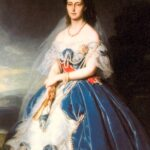 Olga Nikolajewna, die spätere Königin Olga von Württemberg (Gemälde von Franz Xaver Winterhalter), kam mit einer großen Mitgift und einem großen Herzen.