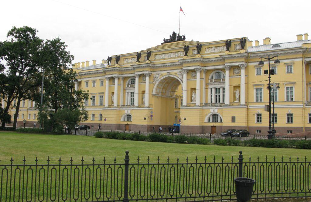 Sitz des Heiligsten Synods in St. Petersburg