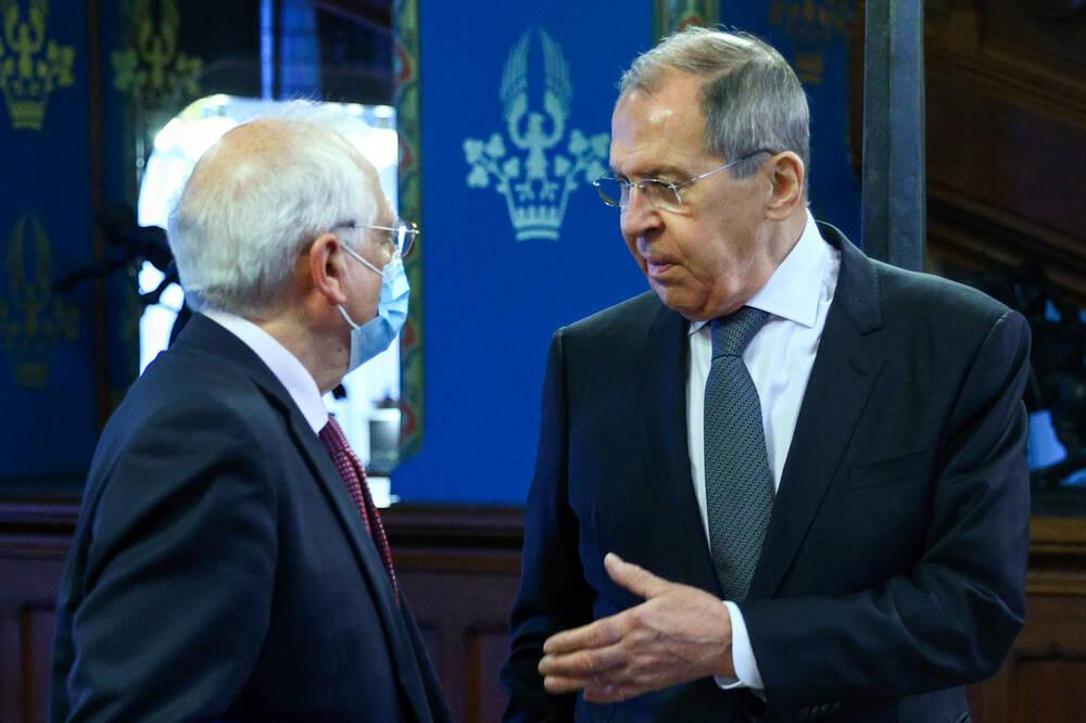 Lawrow und Borrell in Moskau