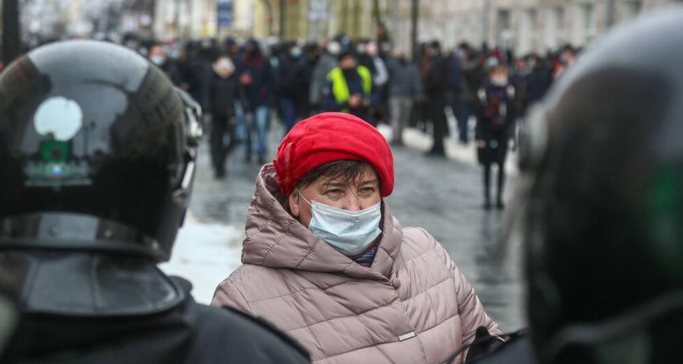 Proteste gegen Putin in Nischni Nowgorod