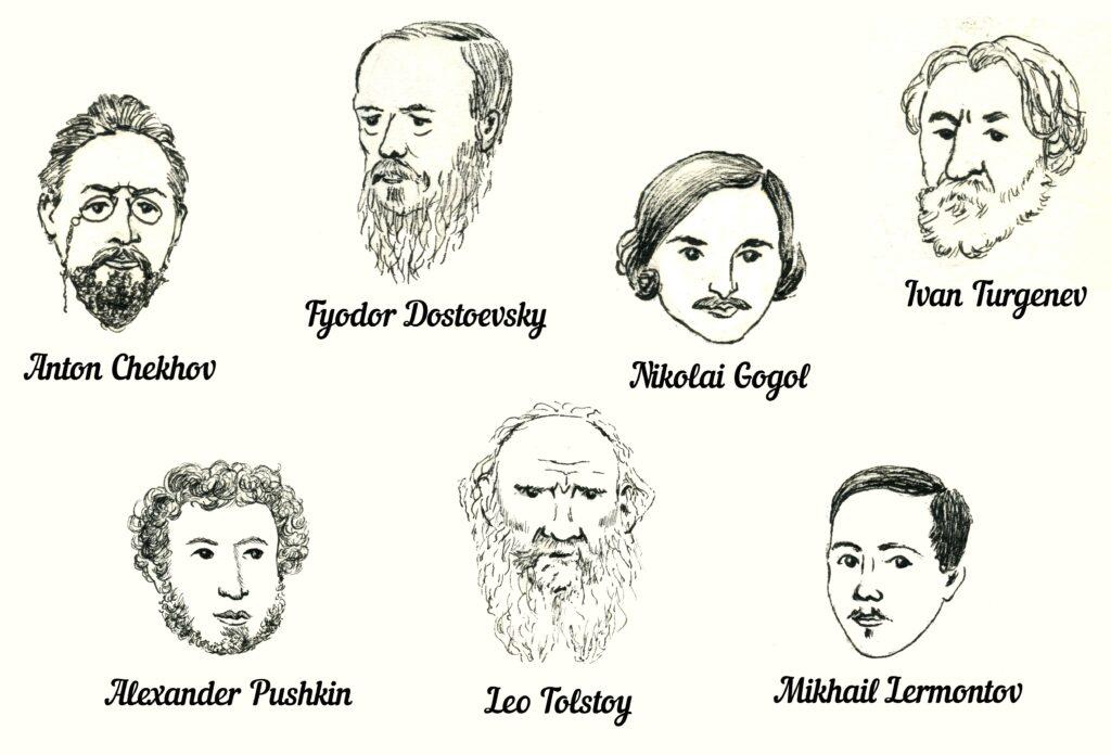 Russische Literaten