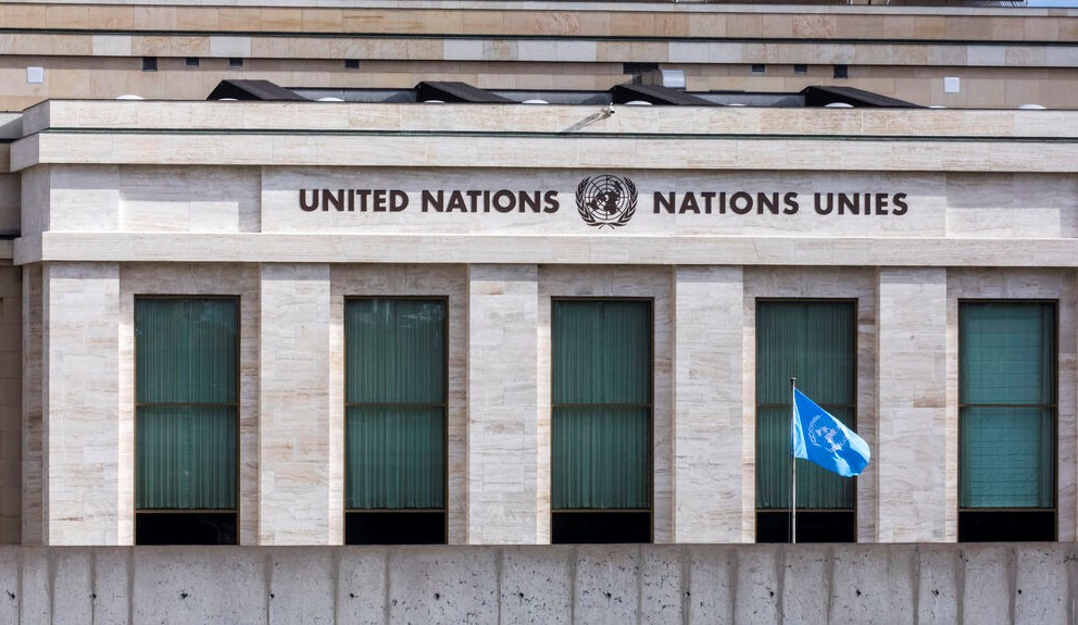 United Nations Vereinte Nationen Genf