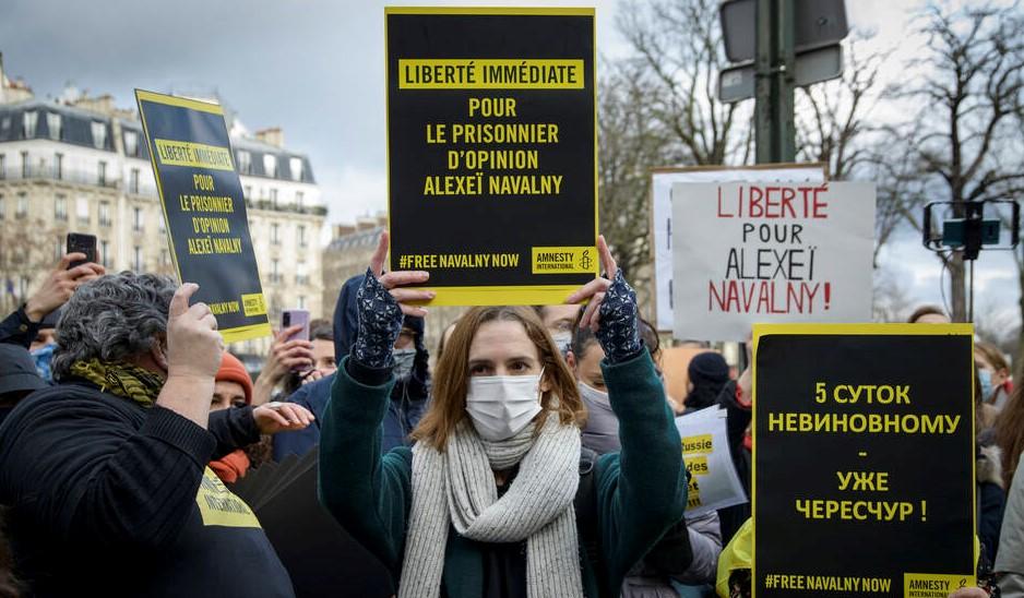 Nawalny Amnesty International