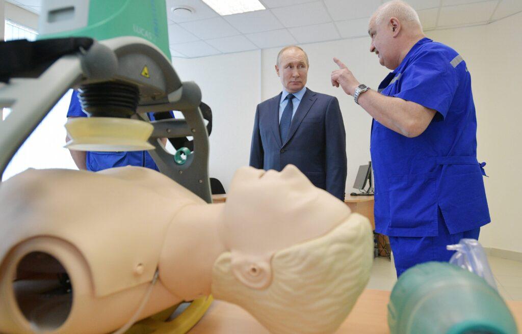 Putin in der Notfallambulanz