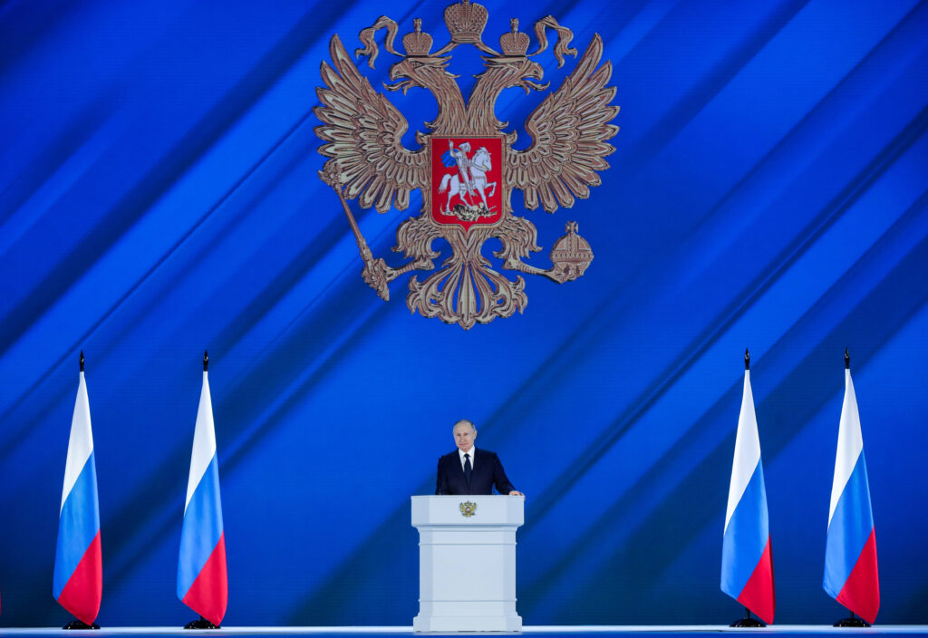 Putin Rede an die Nation 2021 Poslanie