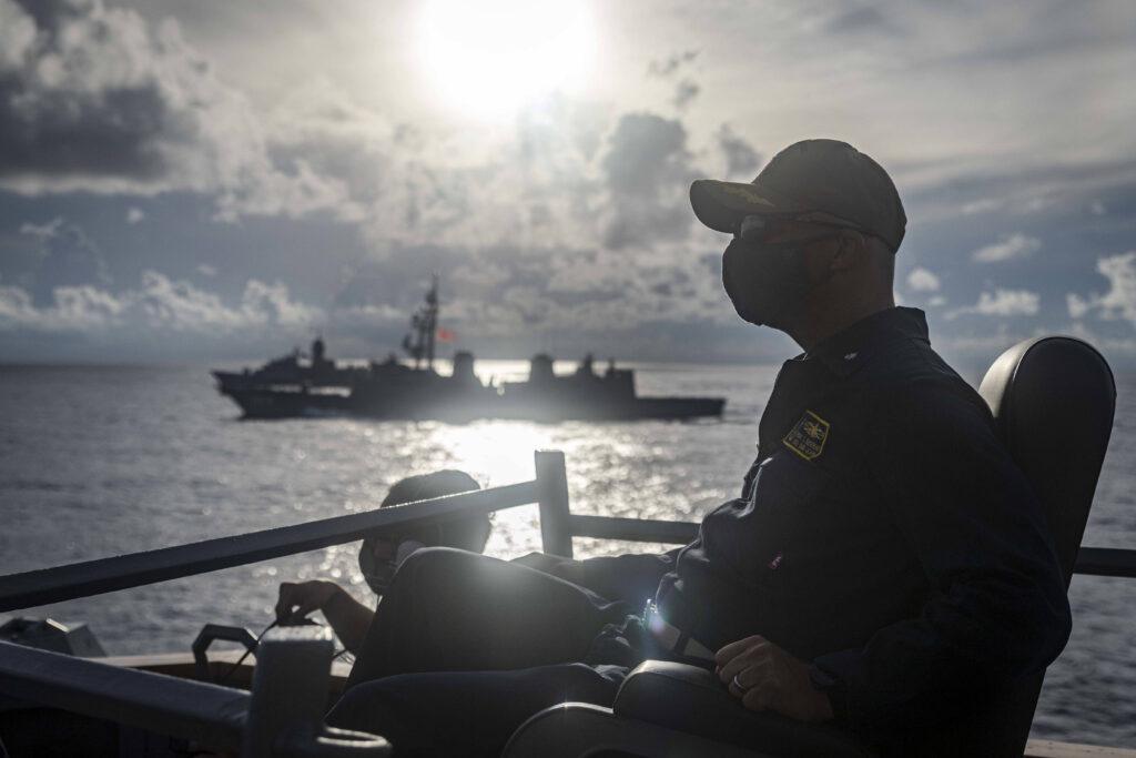 USS John S. McCain im Südchinesischen Meer 2020