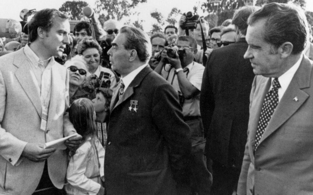 Pleitgen, Breschnew, Nixon