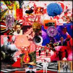 11. Peter Kogler: Untitled, Collage