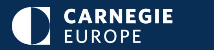 Carnegie Europe Putin Judy Dempsey