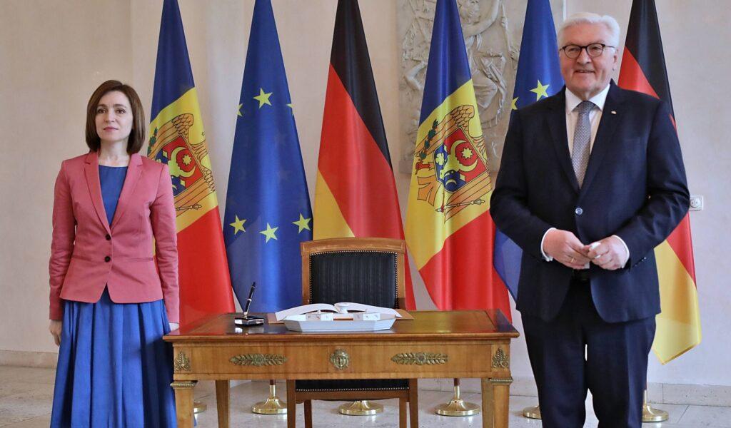 Maia Sandu und Frank-Walter Steinmeier
