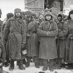 Davongekommen: Sowjetische Kriegsgefangene nach der Befreiung, Staraja Russa, 11.1.1942