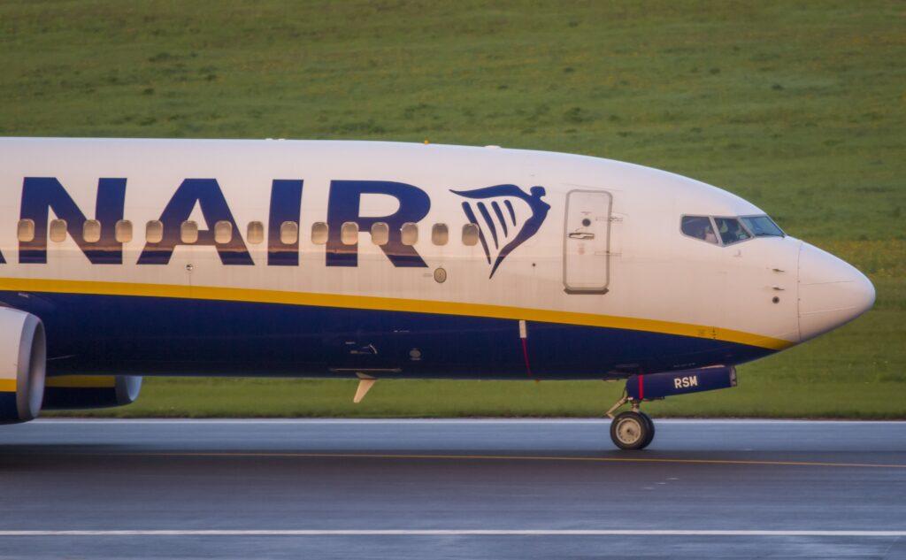 Ryanair Ankunft in Vilnius ohne Protasewitsch