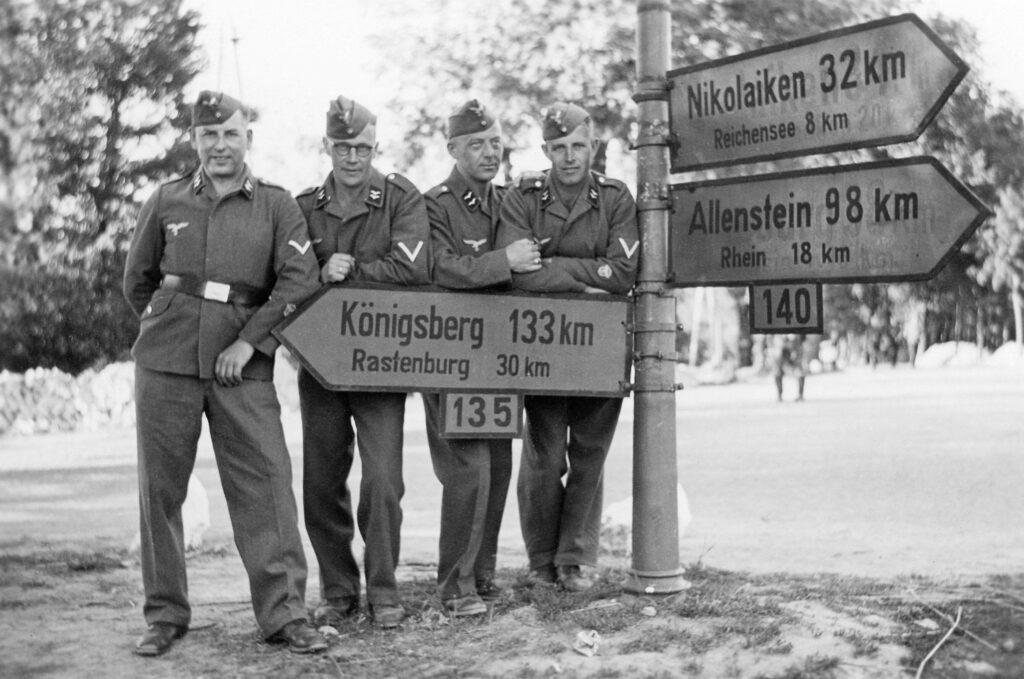Auf dem Weg in die Sowjetunion 15 6 1941