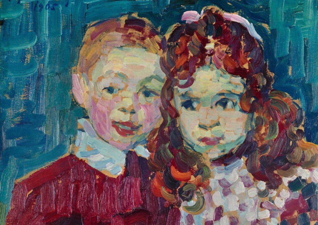 Alexej von Jawlensky Andrei und Katja 1905