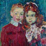 Alexej von Jawlensky: Andrei und Katja, 1905 (vollständig)