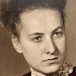 Jelena Hoffmann als Abiturientin in dem Jahr, in dem sie den Aufsatz schrieb.