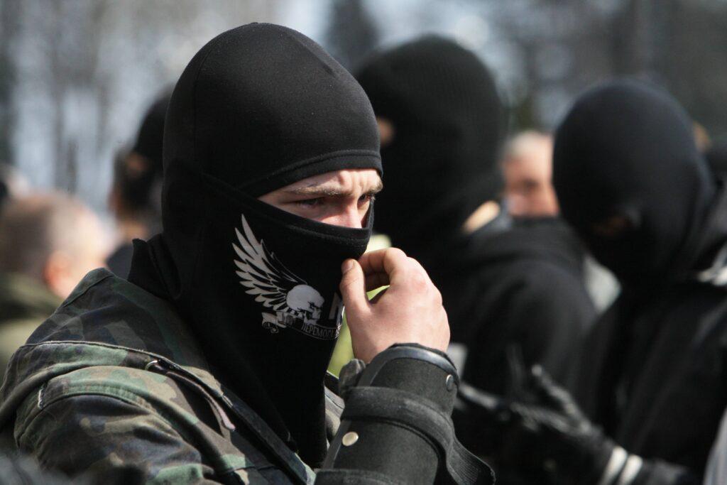 Ukraine Kiew 2014 Maidan Rechtsextreme