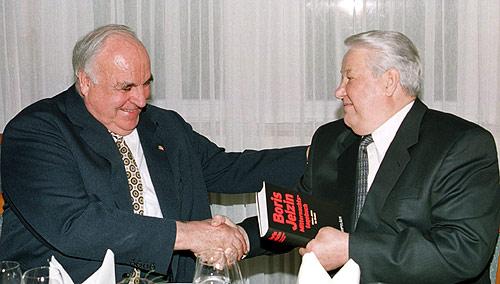 Jelzin Kohl Buchmesse 2000