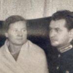 Jelena Hoffmanns Eltern während der Kriegszeit. Alexandra Nikolaevna Tschistjakowa (geb. 1917) und Wladimir Andreevich Rubanov, (geb. 1910).