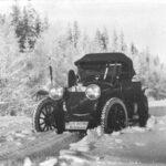 Vor der Fahrt nach Monta-Carlo: Auch Motorsportler bauten auf den Russo-Balt.