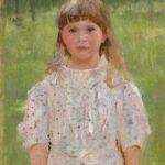 Valentin Serow: Ljolja Derwis, 1892, Öl auf Leinwand, 67,5 x 45,5 cm