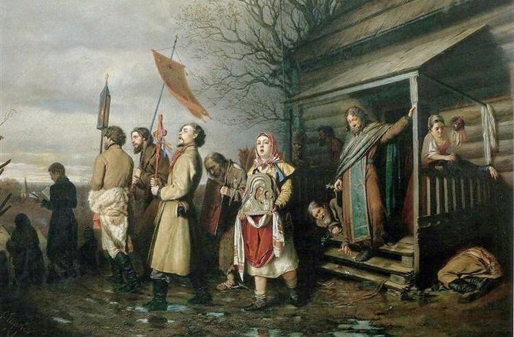 Wassili Grigorjewitsch Perow 1861 Osterprozession