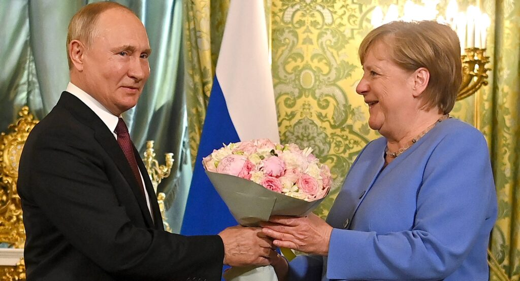 Merkel bei Putin 20.8.2021