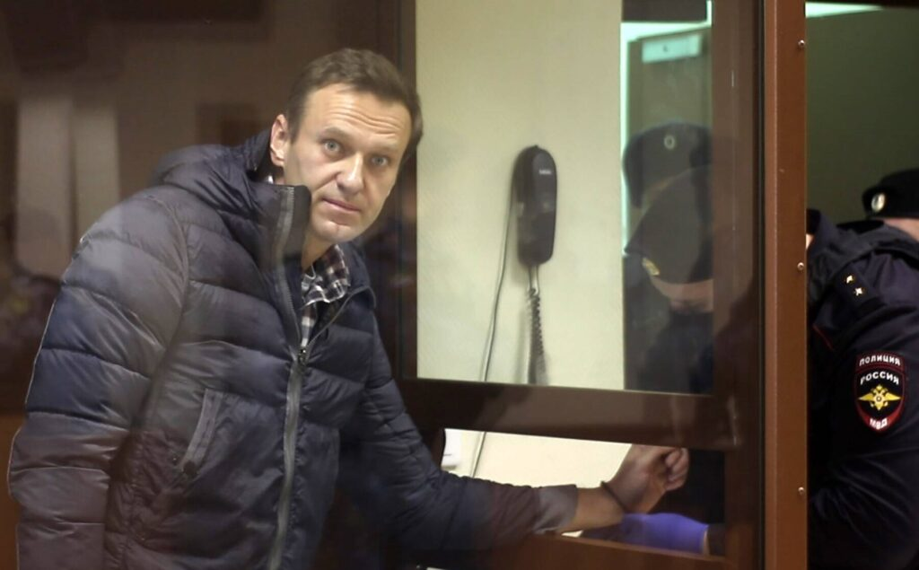 Nawalny vor Gericht am 20.2.2021