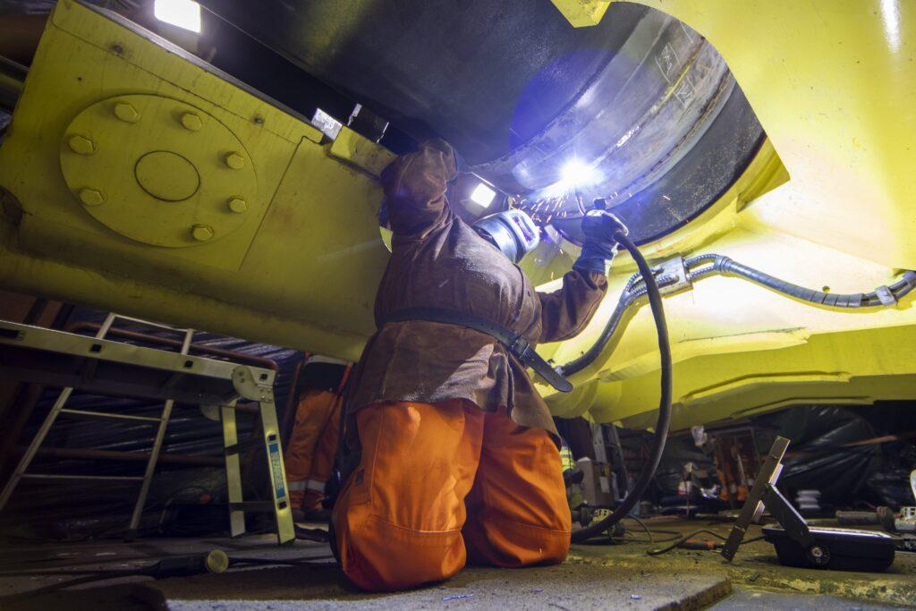 Nord Stream 2: Letzte Schweißnaht für die Pipeline