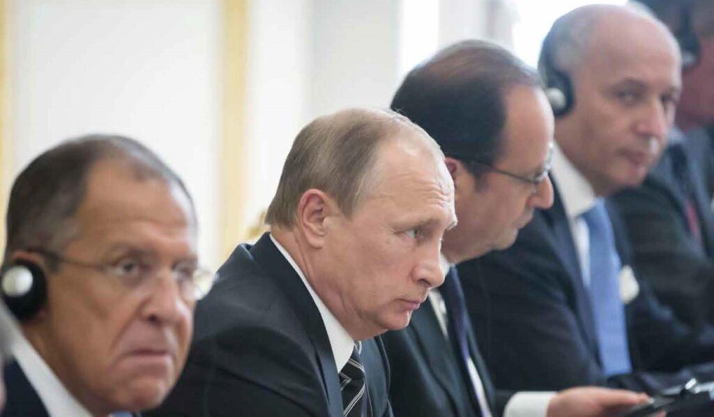 Das Titelfoto zur WeltTrends-Sonderausgabe über Russlands Außenpolitik