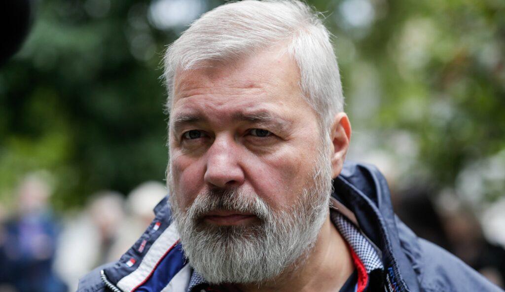 Dmitri Muratow Friedensnobelpreis