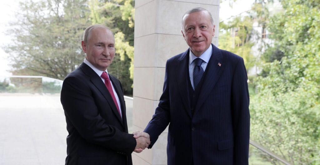 Putin und Erdogan in Sotschi, September 2021