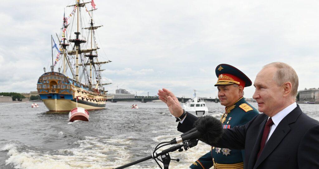 Ein Präsident braucht eine Flotte. Putin und Shoigu